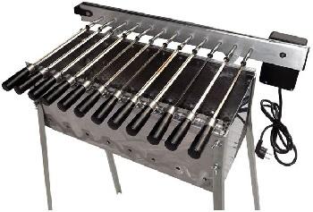 12 Single Automatic Spiedoni BBQ