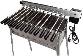 12 Single Automatic Spiedoni BBQ
